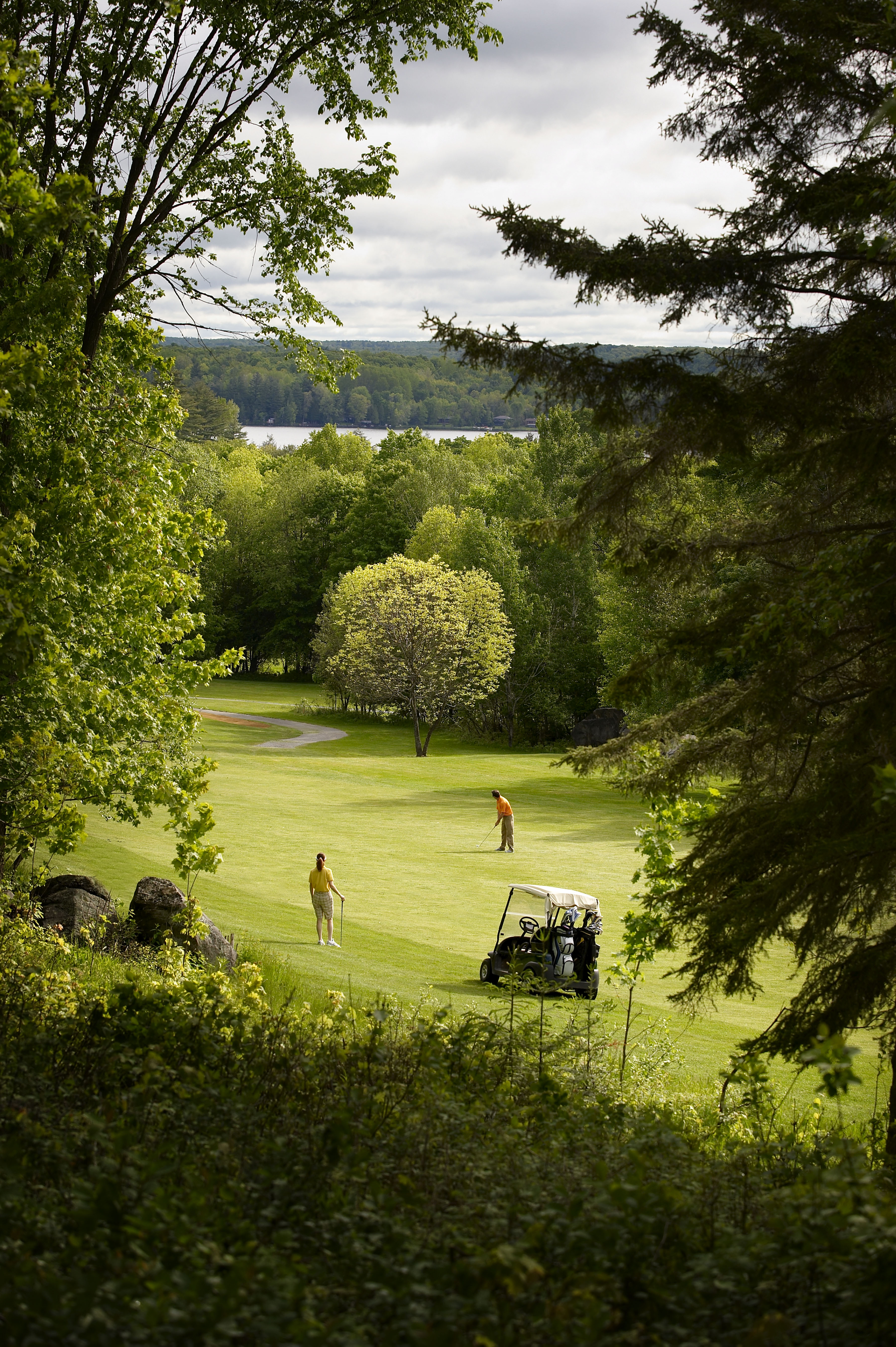 pinestone resort - golf course - haliburton